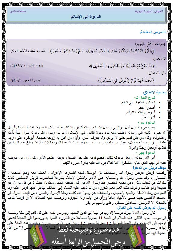 درس التربية الإسلامية الدعوة إلى الإسلام ada3wa-lilslam.png
